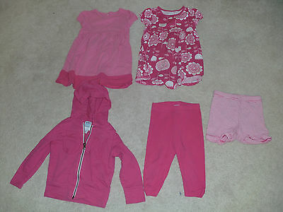 Lot Summer/Fall, 5 PC, 2T, Girls, Mix-and-Match, Play Outfits, Pink, Old Navy