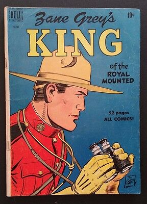 Four Color #283 - Zane Grey's King of the Royal Mounted (Jul 1950, Dell)
