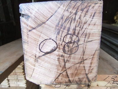 1 Chunky RECYCLED HARDWOOD 135 x 145 TIMBER wood turning old Rustic Furniture