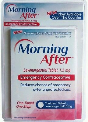 NEW Morning After Pill = Plan B Emergency Contraceptive Pill Levonorgestrel