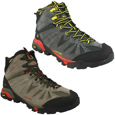 e8b598be58f MENS MERRELL CAPRA Mid Gore-Tex Lace Up Hiking Outdoor Walking Boots J32305