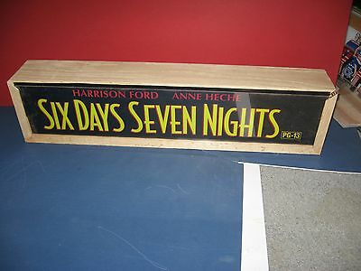 Theater Marquee Light Box Six Days Seven Nights