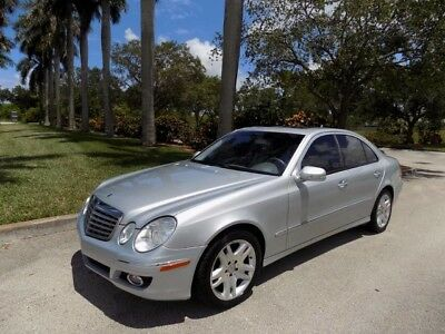2007 Mercedes-Benz E-Class Base Sedan 4-Door 07 E350 NAVIGATION REAR SUNSHADE HEATED SEATS SUNROOF LUXURY WHEELS XENON FL