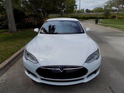 2013 Tesla Model S  2013 MODEL S CLEAN CARFAX TECHNOLOGY PACKAGE NAVIGATION NAPPA LEATHER XENON FL