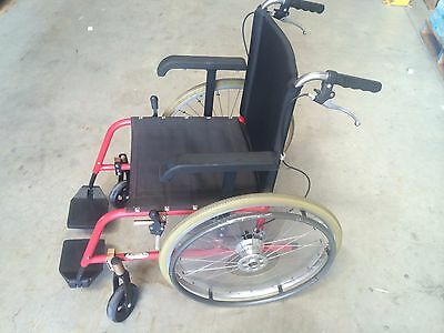 Mobility Plus Manual Wheelchair with handbreaks