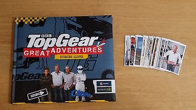 Top Gear 48 Page Sticker/Story Book and 64x Stickers Set
