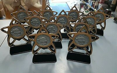 12 x New Basketball Trophies Discontinued Range. Other Quantities also available