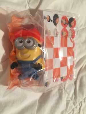 McDonalds Minions toy DESPICABLE Me 3 CHECKERS Australia Happy Meal