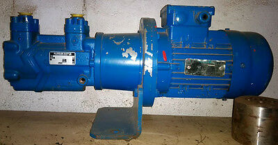 Allweiler Pump for oil and fuel transfer type: AFT1150G19US-W195 with elc Motor