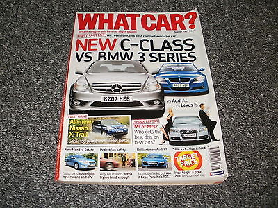 What Car ?   Magazine  August   2007      English Monthly