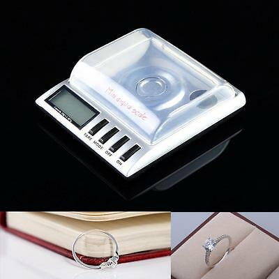 Details about  0.001g 20g Digital Milligram Gram Scale balance weight ES