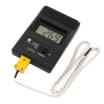 TOP Digital LCD K Thermometer Temperature Meter Single Input Thermocouple Probe