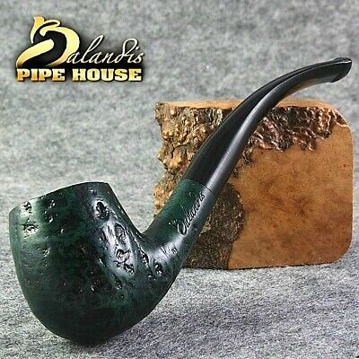 EXCLUSIVE HAND MADE SMOOTH BRIAR wood smoking Dr.Hardy pipe tiny Churchwarden LU