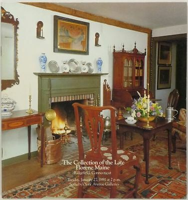 Book: Antique American Folk Art & Antiques Florene Maine Collection at Sotheby's