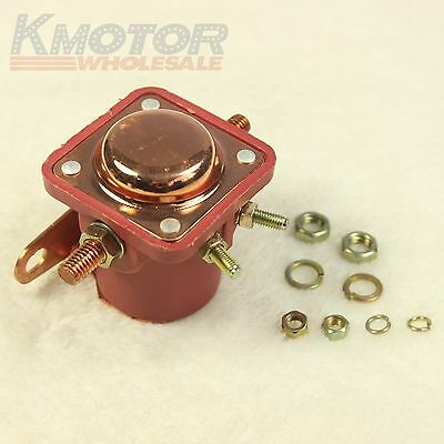 New 12V Solenoid Relay Red Heavy Duty For Ford Starter Car Truck - SW3 - SNL135