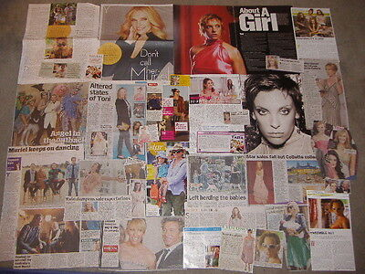 TONI COLLETTE - Over 30 clippings