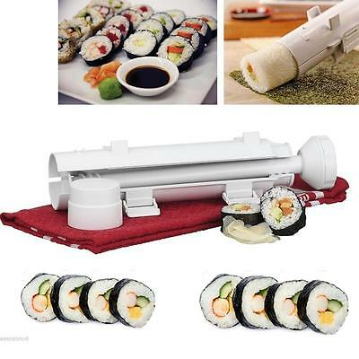 DIY Sushi Bazooka Easy Roll Maker Rice Roller Mold Tube Shape Home Food Maker Y2