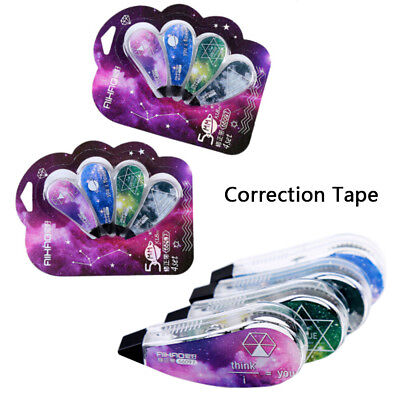 4pcs/set 1.8Mx5MM Starry Sky Correction Tape School Supplies student stationery