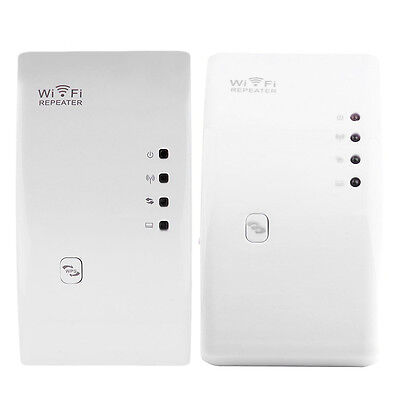 300Mbps Wireless-N 802.11 Wifi Repeater Range Extender Router Booster AU #RB