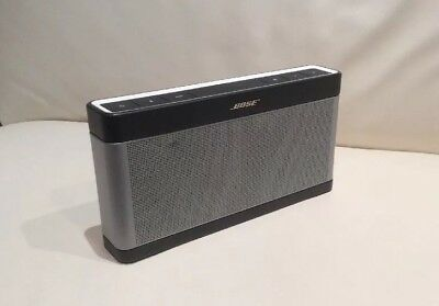 Bose Soundlink Bluetooth Series III 3 Wireless Mobile Speaker Used Condition