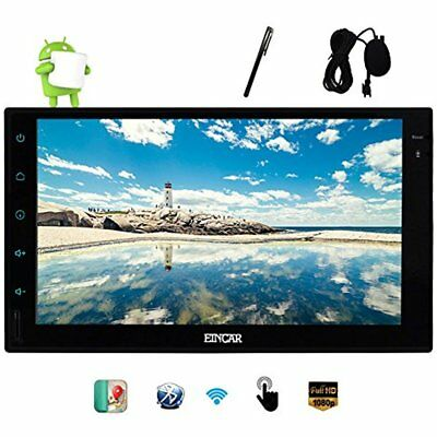 Android 6.0 InDash Navigation 7'' Capacitive Full Touch Screen Car Stereo With