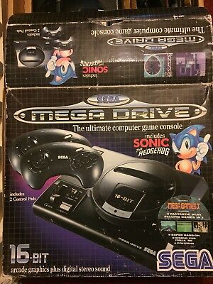 Sega Mega Drive with 10 games and joy stick pad. Excellent condition.