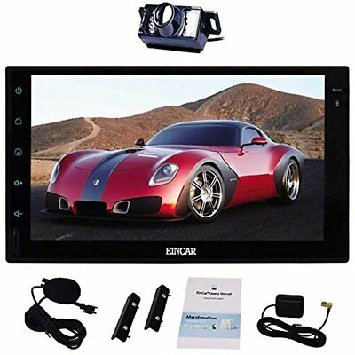 Free External InDash Navigation Microphone Inch Android 6.0 Double Din Car GPS