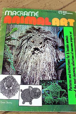 Macrame Animal Art Pattern Book