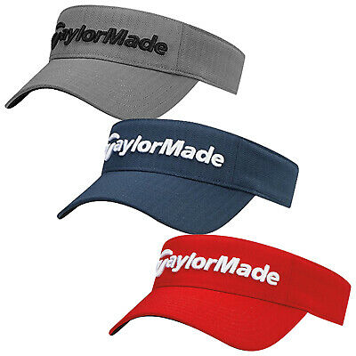 2017 TaylorMade Mens Tour Radar Performance Golf Visor - Adjustable One Size Hat