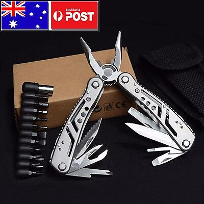 Outdoor Camping Emergency Tools Multifunction Knife Multi-tool Pliers AU SELLER