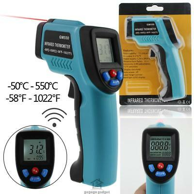 Non-Contact IR Infrared Digital Temperature Temp Thermometer Laser Point Gun AU