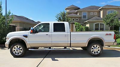 2008 Ford F-350 King Ranch Crew Cab 4WD 2008 Ford F-350 Super Duty King Ranch 6.4L Diesel Crew Cab 4WD Original Owner