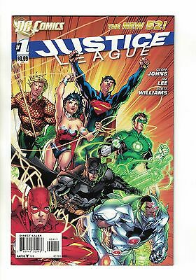 Justice League Vol. 2 - #1 | 1st Print | Regular Jim Lee Cover The New 52! 2011
