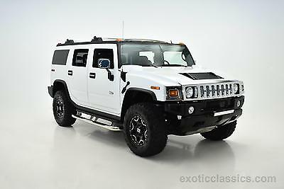2005 Hummer H2 Lux Series 2005 HUMMER H2 Lux Series 0 Miles White SUV V8 6L A