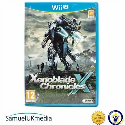 Xenoblade Chronicles X (Nintendo Wii U) **GREAT CONDITION**