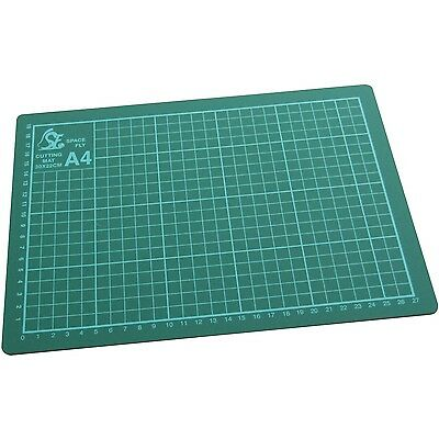 A4 Self Healing Grid Cutting Mat Non Slip Knife Board Art Craft DIY- Amtech