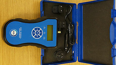 ASL ASLH355 GSM SIGNAL ANALYSER with adapter, cigarette lighter and case