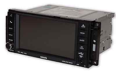 Jeep Dodge Chrysler RBZ MyGIG 430 High Speed UConnect Touchscreen Radio CD OEM