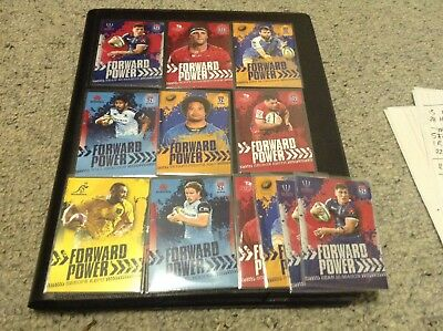 Tap N Play Rugby Forward Power Cards $3 Each