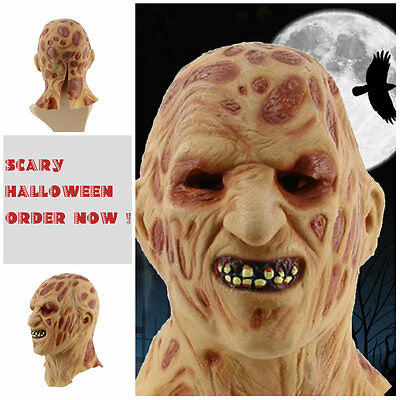 Halloween Party Wacky Mask Cosplay Mask Terror Halloween Head latex Rubber