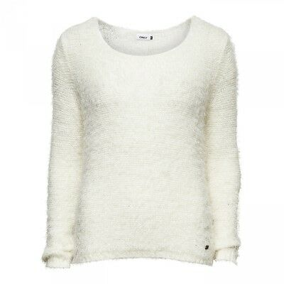 Pull Perfect L/S Knit Noos Cloud Dancer  - Only