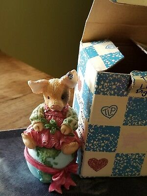 """ENESCO 1995 TLP """"LET THERE BE PIGS ON EARTH"""" THIS LITTLE PIGGY -WIFCaP"""