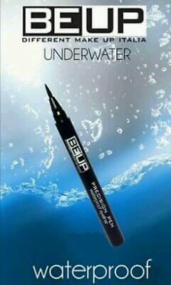 Eyeliner Nero Waterproof Made In Italy Make Up Trucco Occhi Trucchi Be Up