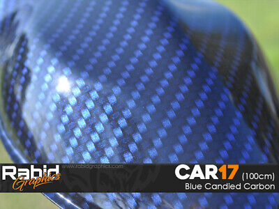 HydroDipping Hydrographics Standard Home Starter Kit - Blue Candy Carbon (CAR17)