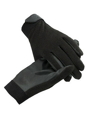 Horze Fleece Gloves - Horse Riding Gloves