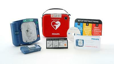Philips Heart Start Home Defibrillator W/carry Case Factory Sealed
