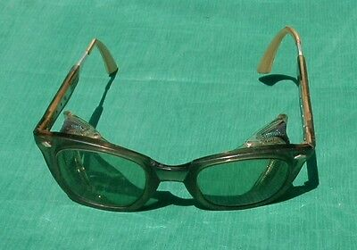 Vintage Sellstrom Safety Adjustable Eye Glasses Tinted Steampun Motorcycle