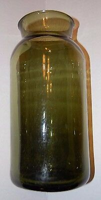 Antique Utility Jar w/Pontil Scar / Good Condition