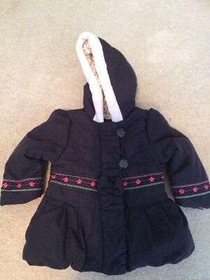 Girls Coat By Mothercare 6-9m