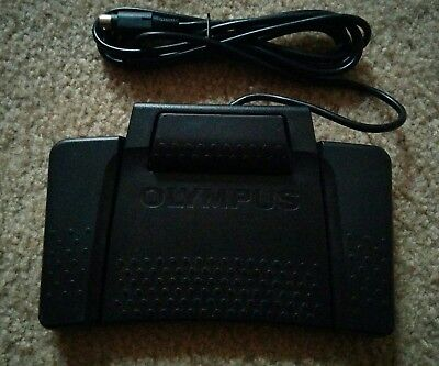 Olympus RS31 Transcription Foot Switch / Pedal ~ PC / Mac